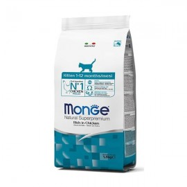 Natural Superpremium Kitten Ricco Di Pollo - Monge