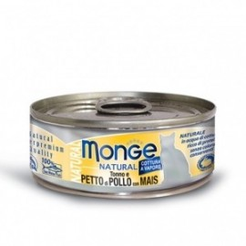 Natural Superpremium Tonno E Petto Di Pollo Con Mais - Monge