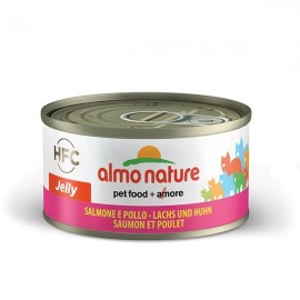 Hfc Jelly Salmone E Pollo - Almo Nature