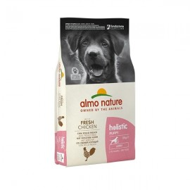 Holistic Large Puppy Pollo E Riso - Almo Nature