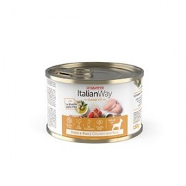 Italian Way Wet Classic Fit Adult Mini Pollo E Riso - Giuntini