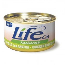 Life Cat Natural Pollo Con Anatra - Life Pet Care