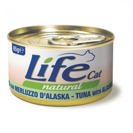 Life Cat Natural Tonnetto Con Merluzzo D'alaska - Life Pet Care