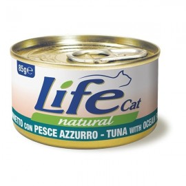 Life Cat Natural Tonnetto Con Pesce Azzurro - Life Pet Care
