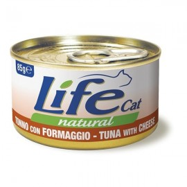 Life Cat Natural Tonno Con Formaggio - Life Pet Care