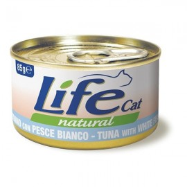 Life Cat Natural Tonno Con Pesce Bianco - Life Pet Care