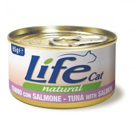 Life Cat Natural Tonno Con Salmone - Life Pet Care