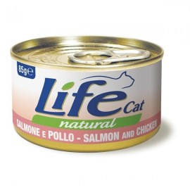 Life Cat Natural Salmone E Pollo - Life Pet Care