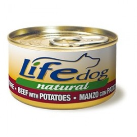 Life Dog Naturale Dadini Di Manzo E Patate - Life Pet Care
