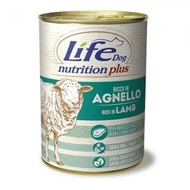 Life Dog Nutrition Plus Agnello - Life Pet Care