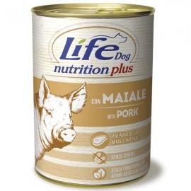 Life Dog Nutrition Plus Maiale - Life Pet Care