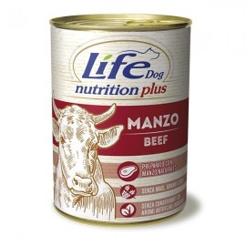Life Dog Nutrition Plus Manzo A Pezzettoni - Life Pet Care