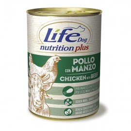 Life Dog Nutrition Plus Manzo E Pollo - Life Pet Care