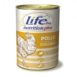 Life Dog Nutrition Plus Pollo A Pezzettoni - Life Pet Care