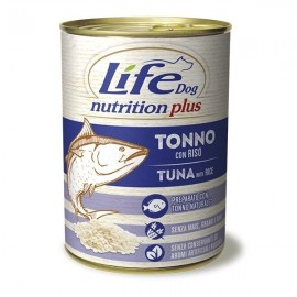 Life Dog Nutrition Plus Tonno Con Riso - Life Pet Care