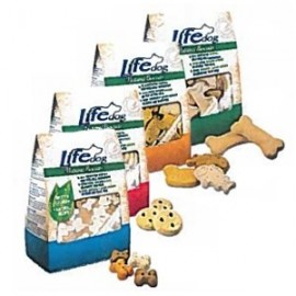 Life Dog Natural Biscuits Bottoni - Life Pet Care