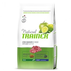 Natural Adult Maxi Con Manzo E Riso - Trainer