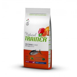 Natural Adult Medium Con Tonno E Riso - Trainer