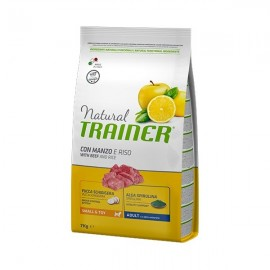 Natural Adult Small & Toy Con Manzo E Riso - Trainer