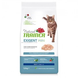Natural Cat Exigent Adult Con Carni Bianche - Trainer