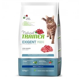 Natural Cat Exigent Adult Con Manzo - Trainer