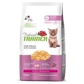 Natural Kitten Con Pollo Fresco - Trainer