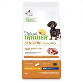 Natural Sensitive No Gluten Small & Toy Adult Con Anatra - Trainer