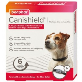Canishield Collare Antiparassitario Per Cane Taglia Small E Medium - Beaphar