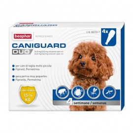 Caniguard Duo Spot On 1,5-4 Kg 4 Pipette - Beaphar