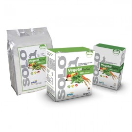 Solo Vegetal Dry Food Small Peso Fino A 8 Kg - Drn