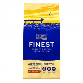 Finest White Fish Puppy Large - Fish4Dogs