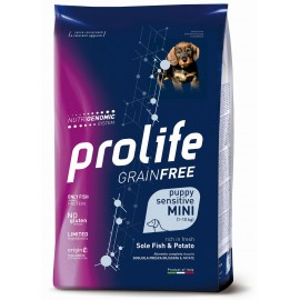 Sensitive Puppy Mini Grain Free Pesce e Patate - Prolife